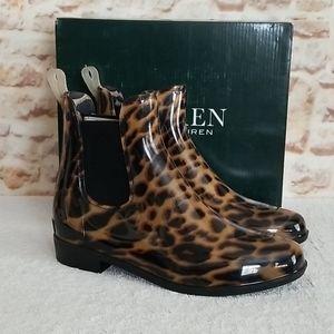 New Ralph Lauren Tally Short Rain Boots